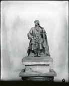 view Model for a Portrait Monument [sculpture] / (photographed by Peter A. Juley & Son) digital asset number 1