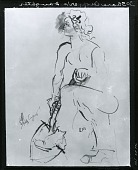 view Sharecropper's Daughter [drawing] / (photographed by Peter A. Juley & Son) digital asset number 1