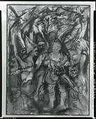 view Macbeth and the Witches [art work] / (photographed by Peter A. Juley & Son) digital asset number 1