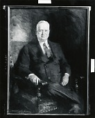 view Herbert Hoover [art work] / (photographed by Peter A. Juley & Son) digital asset number 1