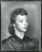 view Portrait of Betty Parish at 19 [painting] / (photographed by Peter A. Juley & Son) digital asset number 1