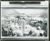 view Winter Landscape [painting] / (photographed by Peter A. Juley & Son) digital asset number 1