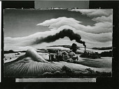 view Threshing Wheat [painting] / (photographed by Peter A. Juley & Son) digital asset number 1