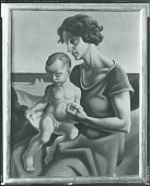 view Rita and T.P. [painting] / (photographed by Peter A. Juley & Son) digital asset number 1