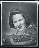 view Portrait de Gala avec symptômes rhinocérontiques [painting] / (photographed by Peter A. Juley & Son) digital asset number 1