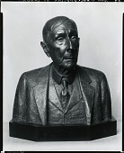 view John D. Rockefeller, Sr. [sculpture] / (photographed by Peter A. Juley & Son) digital asset number 1