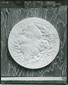 view (No Title Given: Medal) [sculpture] / (photographed by Peter A. Juley & Son) digital asset number 1