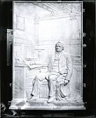 view Portrait of Eliphalet Adams Bulkeley from the Bulkeley Memorial, Aetna Life Insurance Building [sculpture] / (photographed by Peter A. Juley & Son) digital asset number 1