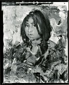 view Portrait of an American Indian Child [painting] / (photographed by Peter A. Juley & Son) digital asset number 1