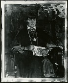 view Mabel Dodge Luhan [painting] / (photographed by Peter A. Juley & Son) digital asset number 1