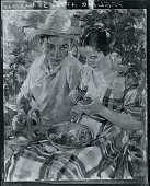 view Peeling Apples [painting] / (photographed by Peter A. Juley & Son) digital asset number 1