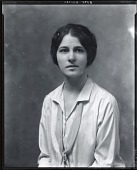 view Unidentified woman [photograph] / (photographed by Peter A. Juley & Son) digital asset number 1