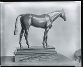 view The Thoroughbred Horse [sculpture] / (photographed by Peter A. Juley & Son) digital asset number 1