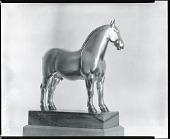 view Percheron Stallion: Rhum [sculpture] / (photographed by Peter A. Juley & Son) digital asset number 1