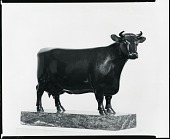 view Dairy Shorthorn Cow: Lily Charter 2nd [sculpture] / (photographed by Peter A. Juley & Son) digital asset number 1