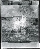 view The Lone Birch [painting] / (photographed by Peter A. Juley & Son) digital asset number 1