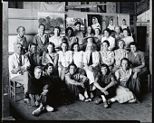 view George Elmer Browne with his class, Provincetown, Massachusetts [photograph] / (photographed by Peter A. Juley & Son) digital asset number 1