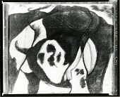 view Cow [drawing] / (photographed by Peter A. Juley & Son) digital asset number 1