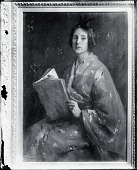 view The Japanese Kimono [painting] / (photographed by Peter A. Juley & Son) digital asset number 1