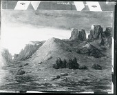view Temples of New Mexico [painting] / (photographed by Peter A. Juley & Son) digital asset number 1