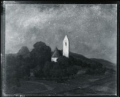 view Landscape with Church [painting] / (photographed by Peter A. Juley & Son) digital asset number 1