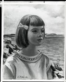 view The Artist's Daughter [art work] / (photographed by Peter A. Juley & Son) digital asset number 1