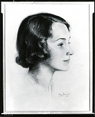 view Portrait of a Woman [drawing] / (photographed by Peter A. Juley & Son) digital asset number 1