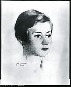 view Barbara [drawing] / (photographed by Peter A. Juley & Son) digital asset number 1