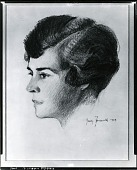 view Mrs. Briggs [drawing] / (photographed by Peter A. Juley & Son) digital asset number 1
