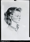 view Wilson Portrait [drawing] / (photographed by Peter A. Juley & Son) digital asset number 1