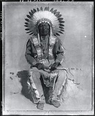 view Chief Dewey Beard [poainting] / (photographed by Peter A. Juley & Son) digital asset number 1