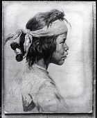 view Navajo Shepherd Boy [painting] / (photographed by Peter A. Juley & Son) digital asset number 1
