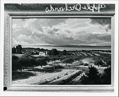 view Apple Orchards Along Traverse Bay [painting] / (photographed by Peter A. Juley & Son) digital asset number 1