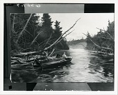view Ausable River [painting] / (photographed by Peter A. Juley & Son) digital asset number 1