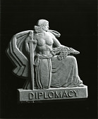 view Diplomacy-Lamar Monument [art work] / (photographed by Peter A. Juley & Son) digital asset number 1