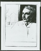 view Portrait of John F. Weir [graphic arts] / (photographed by Peter A. Juley & Son) digital asset number 1