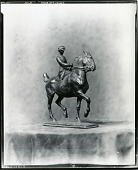view The Equestrienne [sculpture] / (photographed by Peter A. Juley & Son) digital asset number 1