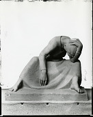view Figure with Head Down [sculpture] / (photographed by Peter A. Juley & Son) digital asset number 1