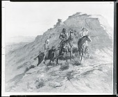 view Indians on Horseback [painting] / (photographed by Peter A. Juley & Son) digital asset number 1