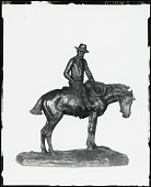 view The Horse Wrangler [sculpture] / (photographed by Peter A. Juley & Son) digital asset number 1