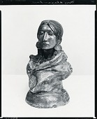 view Piegan Squaw (model) [sculpture] / (photographed by Peter A. Juley & Son) digital asset number 1
