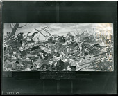 view The battle of Patay [painting] / (photographed by Peter A. Juley & Son) digital asset number 1