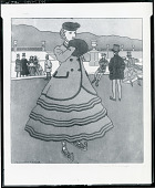 view La Patineuse [graphic arts] / (photographed by Peter A. Juley & Son) digital asset number 1