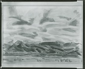 view Clouds [painting] / (photographed by Peter A. Juley & Son) digital asset number 1
