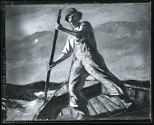 view Fisherman [painting] / (photographed by Peter A. Juley & Son) digital asset number 1