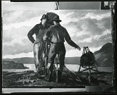 view Two Fishermen [painting] / (photographed by Peter A. Juley & Son) digital asset number 1