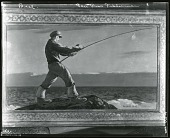 view Sea Bass Fisherman [painting] / (photographed by Peter A. Juley & Son) digital asset number 1