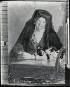 view The Baroness and Her Cat [painting] / (photographed by Peter A. Juley & Son) digital asset number 1
