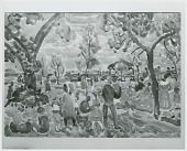 view Picnic Grove [painting] / (photographed by Peter A. Juley & Son) digital asset number 1