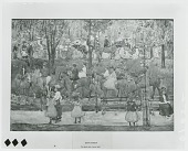 view The Bridle Path, Central Park [painting] / (photographed by Peter A. Juley & Son) digital asset number 1